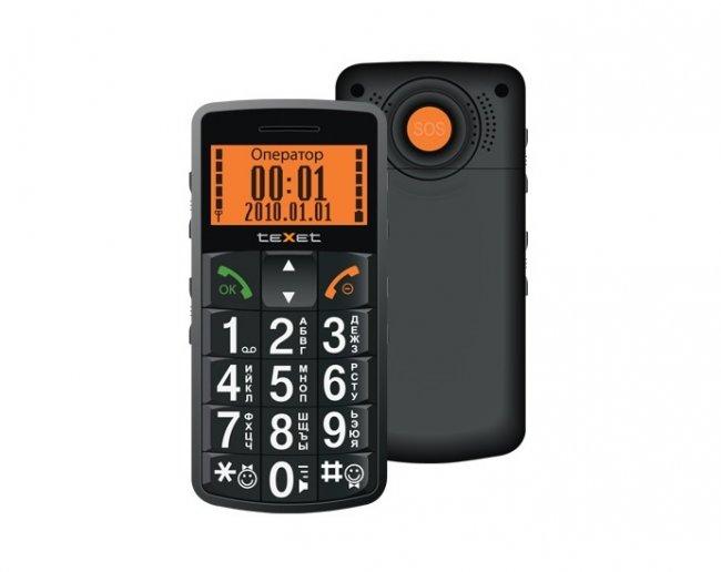Телефон teXet TM-B100