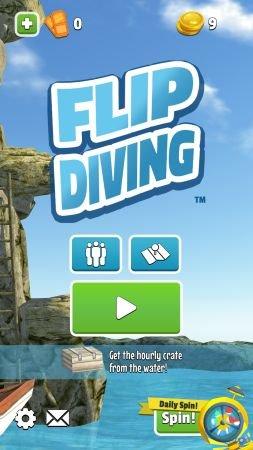 Flip Diving - красочный таймкиллер про прыжки в воду