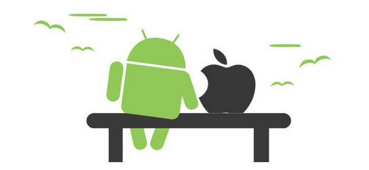 Apple и Android