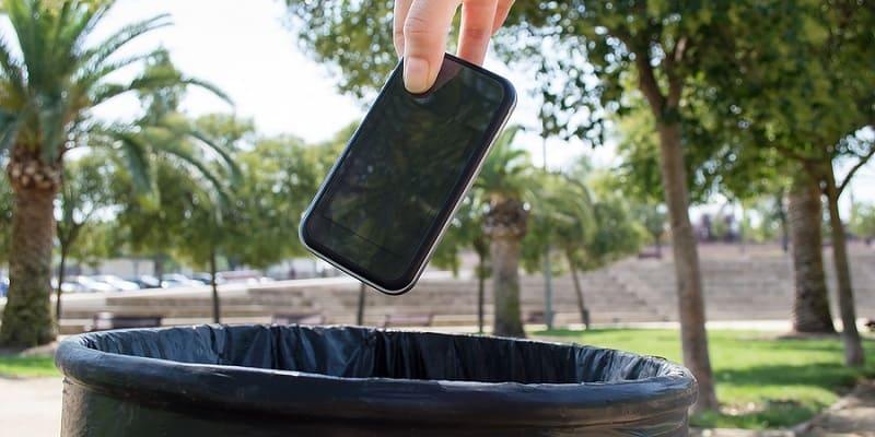 Как правильно утилизировать смартфоны